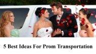 5 Best Ideas for Prom Transportation