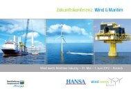 Zukunftskonferenz: Wind & Maritim - Wind Energy Network