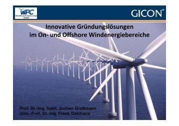 Erfahrungen aus Planung und Genehmigung von über 22.000 MW!