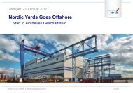 Nordic Yards Goes Offshore - Wind Energy Network