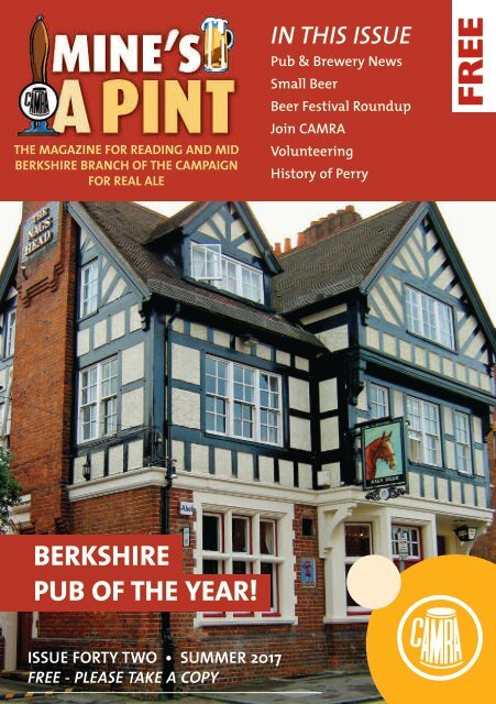 Mine's a Pint Issue 42
