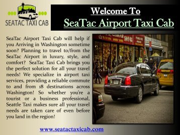 Taxi Cab in Bellevue