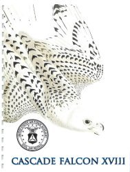 2013 Cascade Falcon Encampment XVIII Annual