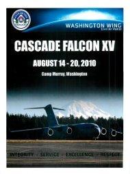 2010 Cascade Falcon Encampment XV Annual
