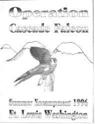 1996 Cascade Falcon Encampment I Annual