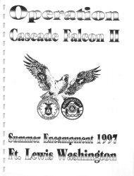 1997 Cascade Falcon Encampment II Annual