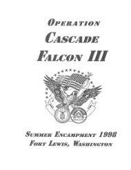 1998 Cascade Falcon Encampment III Annual
