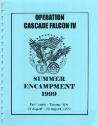 1999 Cascade Falcon Encampment IV Annual