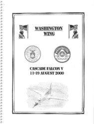 2000 Cascade Falcon Encampment V Annual