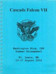 2002 Cascade Falcon Encampment VII Annual