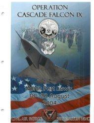 2004 Cascade Falcon Encampment IX Annual