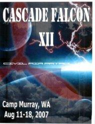 2007 Cascade Falcon Encampment XII Annual