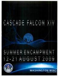 2009 Cascade Falcon Encampment XIV Annual