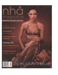 Xuan Interviewed in Nha Magazine - pdf version - Swan Mosaic