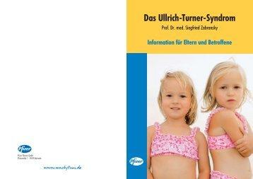 Broschüre Ullrich-Turner-Syndrom (2036 KB ) - bei wachstum.de