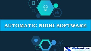 Nidhi Banking Solutions, Nidhi MLM Software, Nidhi Limited Company, Starting a Nidhi Company