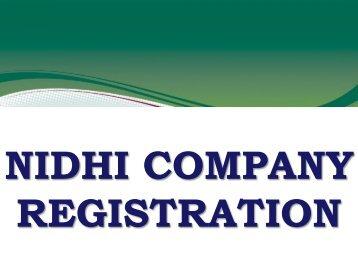 Nidhi Society Companies, Nidhi Software Development, Nidhi Banking