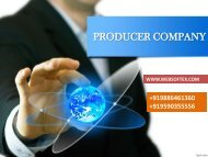 Producer Examples, Producer Meaning, Producer Company Section, Producer Act
