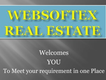 Real Estate Investment, Real Estate Business, Real Estate Agents, Real Estate (RD FD)