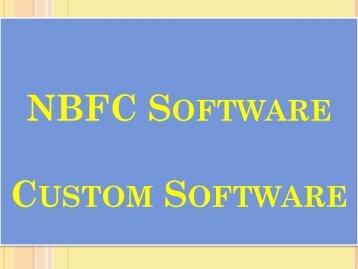 NBFC Software, Custom Software, Non Banking Financial, NBFC Management