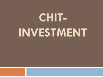 Chit-Investment, Chitfund Regulation India, Chit Investment, Chit Process, Chit Fund Concept
