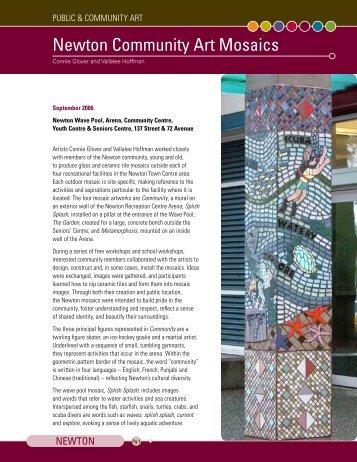 Newton Community Art Mosaics