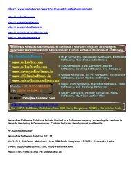 MLM Software, HR Software, ChitFund Software, Payroll Software, Microfinance, Online RD FD Software