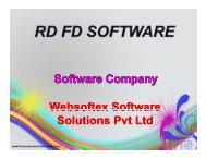RD FD Software, NBFC Software, Loan Software, Home Loan Software, Personal Loan Software