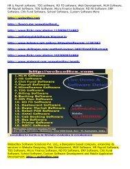 Micro Finance Software, RD FD Software, ERP Software, Chit Fund Software