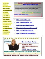 Payroll Software, Microfinance Software, RD FD Software, Gift Plan Software, Online Chit Fund, NBFC Software