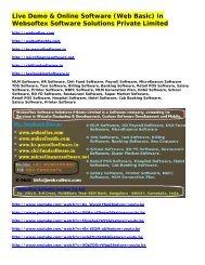 HR Software, Chit Fund Software, Microfinance Software, ERP Software, CRM Software, Accounting Software