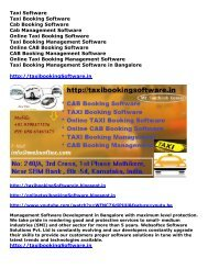 CAB Booking Software, TAXI Booking Software, Online TAXI Software, TAXI Booking, CAB Booking