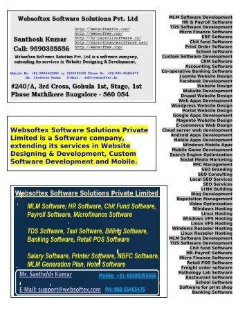 Billing Software, Banking Software, School Software, Restaurant Software, Seo Company, Payroll Software
