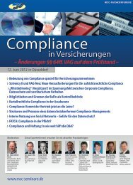 Compliance - VOV GmbH