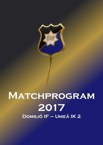 Matchprogram_2017_DIF-UIK