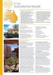 16 Tage Australisches Mosaik - Karawane Reisen