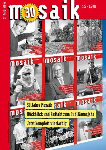 30 Jahre Mosaik Jetzt komplett vierfarbig Rückblick ... - St. Margrethen