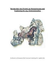 Bericht über das Projekt zur Restaurierung und ... - Dirk Nowak