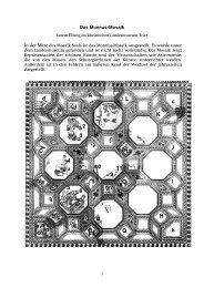 Das Monnus-Mosaik - Rheinisches Landesmuseum Trier
