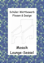 Mosaik Lounge-Sessel