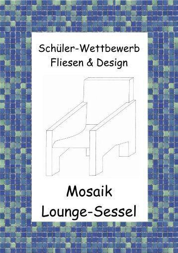 Mosaik Lounge-Sessel