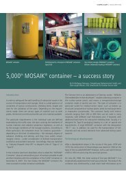 5,000th MOSAIK® container – a success story - Siempelkamp