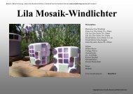 Anleitung zum Ausdrucken - Mosaiksteine, Mosaik Shop