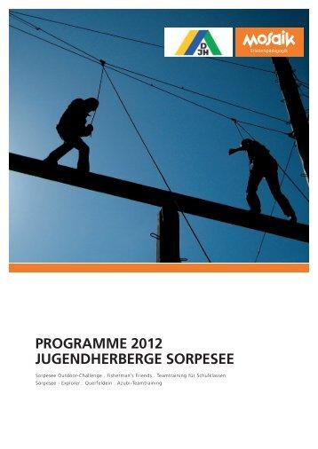 pauSchalprogramme 2012 SorpeSee