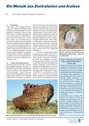 Ein Mosaik aus Zentralasien und Aralsee - Basler & Hofmann