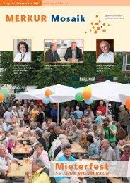 MERKUR Mosaik Mieterfest - Wohnungsgenossenschaft MERKUR eG
