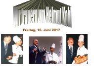 LÖHRER  trauert  um Bundeskanzler Helmut Kohl a. D. - verstorben am 16. Juni 2017
