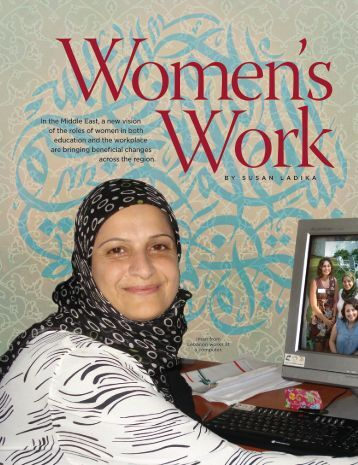In the Middle East, a new vision of the roles of women in ... - NAFSA