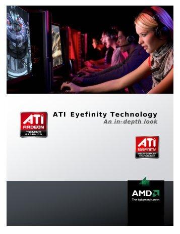 ATI Eyefinity Technology - AMD