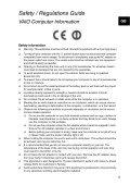 Sony SVS1311E4E - SVS1311E4E Documents de garantie Slovénien - Page 5